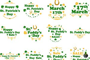 St Patricks words