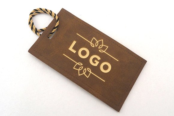 tag label logo mock up product mockups creative market