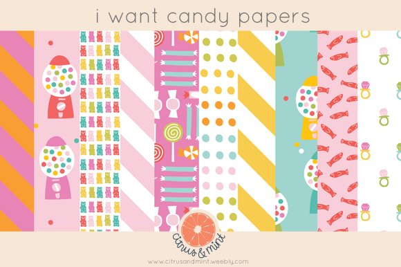 Candy Digital Papers