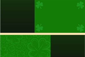 St Patricks green Pattern