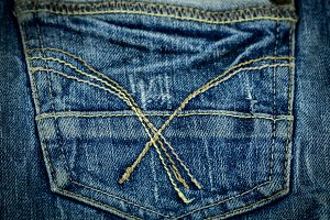 jeans, pocket, close-up, fashionable clothes