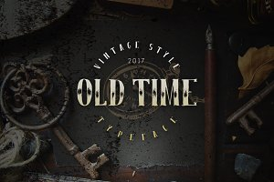 Old time font