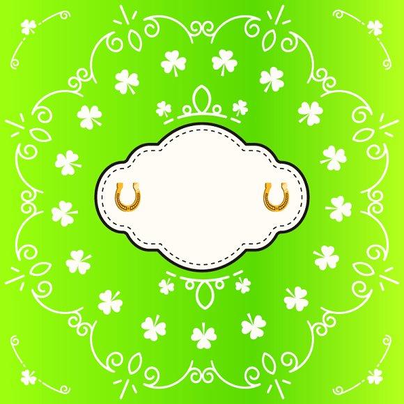 St Patricks Card Pack