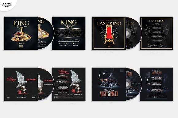 20 CD COVER TEMPLATES / 90%OFF in Templates - product preview 3