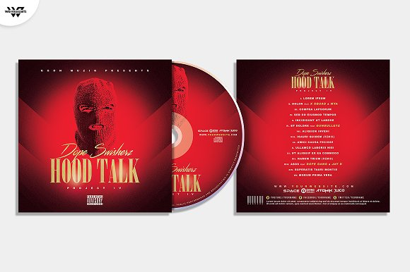20 CD COVER TEMPLATES / 90%OFF in Templates - product preview 13