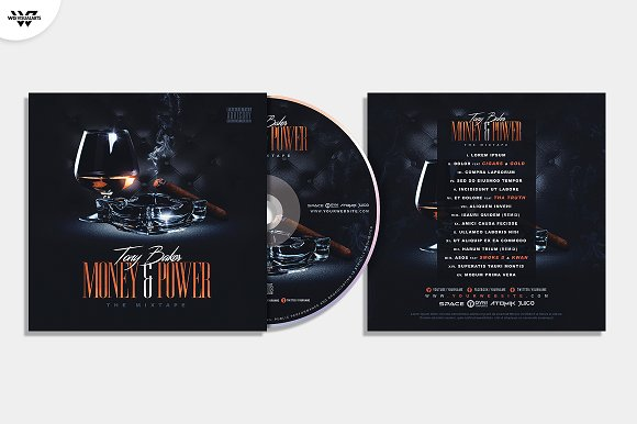20 CD COVER TEMPLATES / 90%OFF in Templates - product preview 17