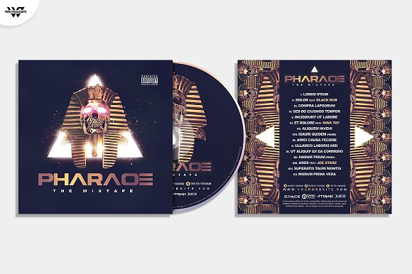 20 CD COVER TEMPLATES / 90%OFF in Templates - product preview 19