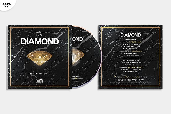 20 CD COVER TEMPLATES / 90%OFF in Templates - product preview 20