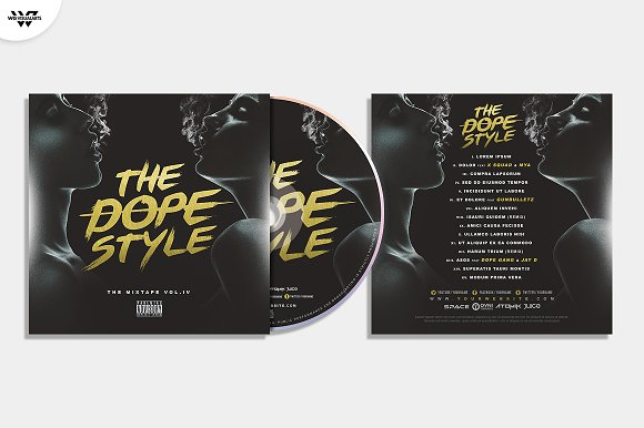 20 CD COVER TEMPLATES / 90%OFF in Templates - product preview 21