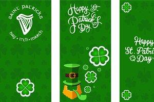 St Patricks banner