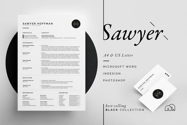 resume templates bilmaw creative - Fashion Design Resume Template