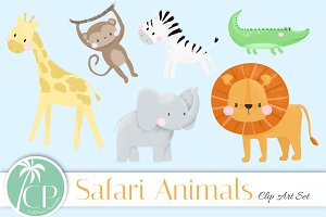 Safari Clip Art Set
