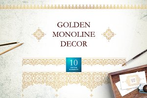 2. Set Of Vector Monoline Decor