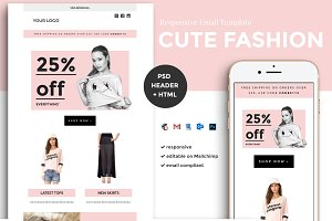 Fashion Email Template (psd + html)