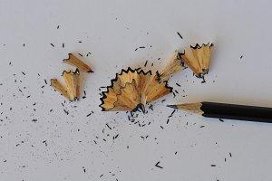 Pencil Shavings Paper
