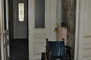 Wheelchair Abandoned House