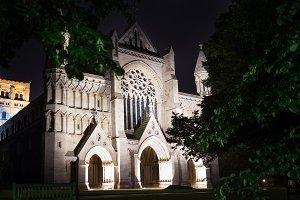 Popular St Albans abbey church night lights