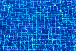 Water surface in swimming pool holiday tropical