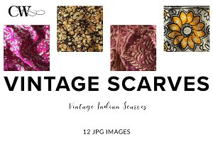 Vintage Indian Scarves