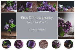 Rustic Lilac | Stock Photo Bundle