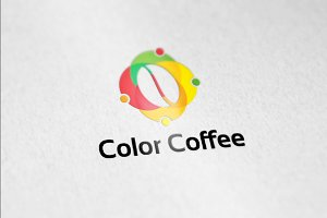 Coffee Color Logo template designs