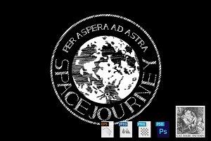 Space jorney emblem