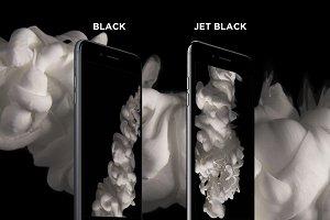 4K Black iPhone 7 PlusMockup
