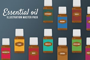 Essential Oil Bottles (Young Living)