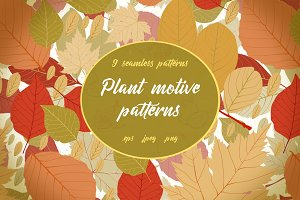 Plant motive patterns