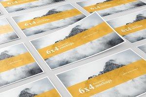 6x4 Postcard / Flyer Mockup