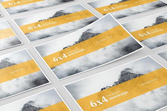Download 6x4 Postcard / Flyer Mockup