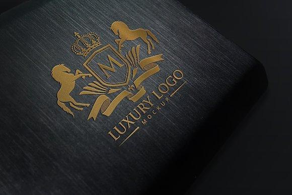 Download Luxury Logo Mockup V1