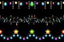 Christmas lights patterns