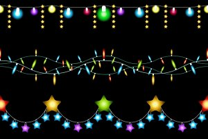 Christmas lights patterns