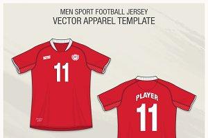 Men Sport Football Jersey