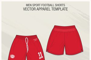 Men Sport Football Shorts