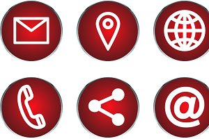 personal information icons