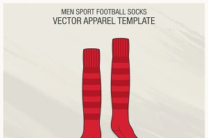 Men Sport Football Socks
