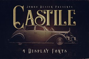 Castile - Display Font