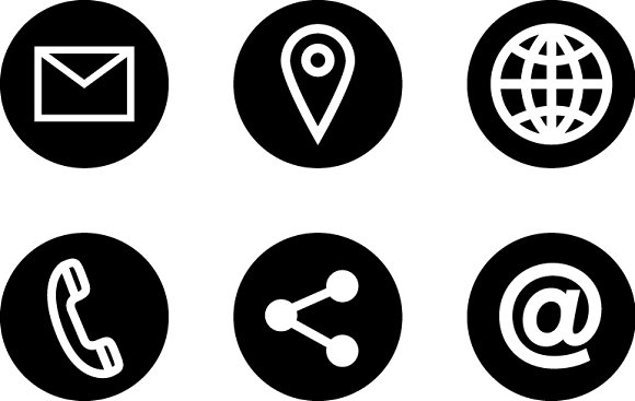 personal icons info creative flc