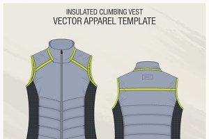 Insulated Climbing Jacket