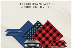 Bed Comforters & Pillow Covers