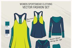Women Sportswear Fashion Set