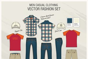 Men Casual Clothing Fashion Set