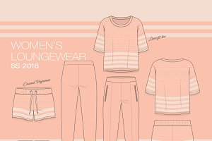 Women Sporty Loungewear Fashion Set