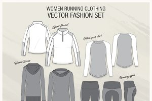 Women Running Clothing Set
