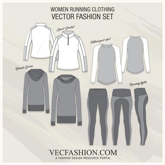 Women Running Clothing Set