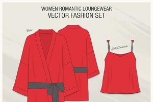 Women Romantic Loungewear