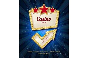 Shining Casino Banner.