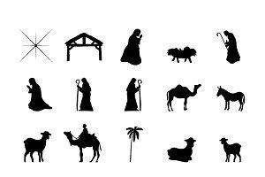 nativity icons